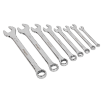 8pc Combination Spanner Set - Whitworth. S0870